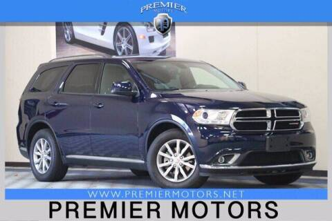 2017 Dodge Durango for sale at Premier Motors in Hayward CA