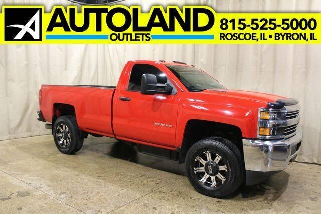 2015 Chevrolet Silverado 3500HD for sale at AutoLand Outlets Inc in Roscoe IL