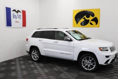 2015 Jeep Grand Cherokee for sale at Carousel Auto Group in Iowa City IA