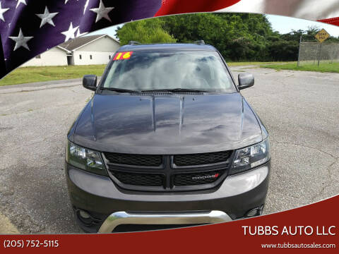 2016 Dodge Journey for sale at Tubbs Auto LLC in Tuscaloosa AL