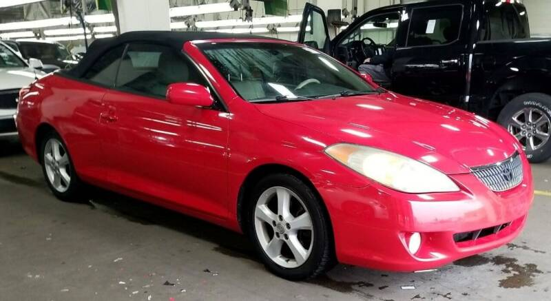 2005 Toyota Camry Solara for sale at Angelo's Auto Sales in Lowellville OH