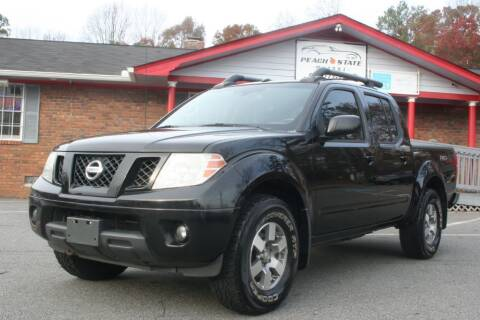 2012 Nissan Frontier for sale at Peach State Motors Inc in Acworth GA