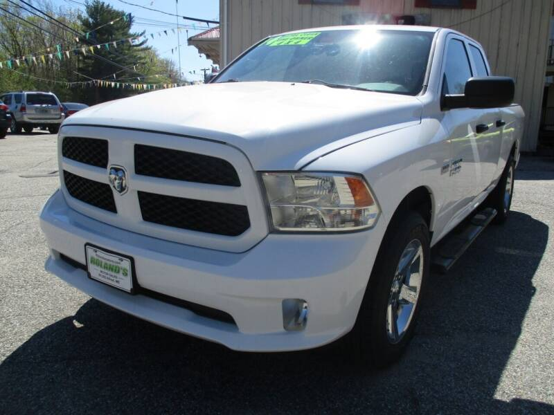 2014 RAM Ram Pickup 1500 for sale at Roland's Motor Sales in Alfred ME