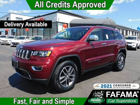 2018 Jeep Grand Cherokee for sale at FAFAMA AUTO SALES Inc in Milford MA