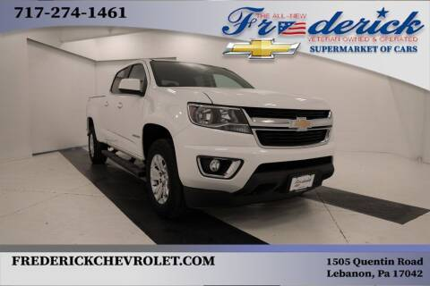 2018 Chevrolet Colorado for sale at Lancaster Pre-Owned in Lancaster PA