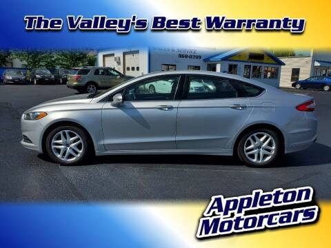 2015 Ford Fusion for sale at Appleton Motorcars Sales & Service in Appleton WI