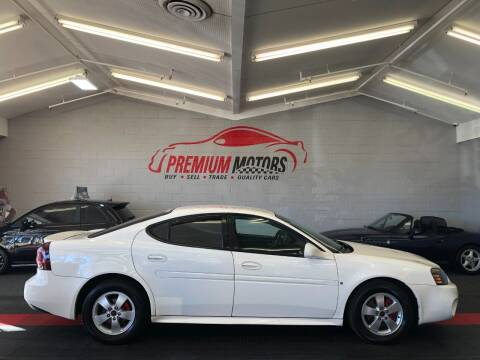 2006 Pontiac Grand Prix for sale at Premium Motors in Villa Park IL