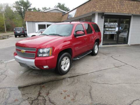 2014 Chevrolet Tahoe for sale at Millbrook Auto Sales in Duxbury MA