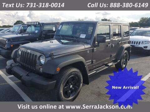 2017 Jeep Wrangler Unlimited for sale at Serra Of Jackson in Jackson TN