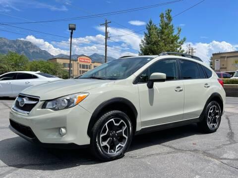 2015 Subaru XV Crosstrek for sale at Ultimate Auto Sales Of Orem in Orem UT
