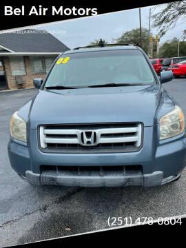 2008 Honda Pilot for sale at Bel Air Motors in Mobile AL
