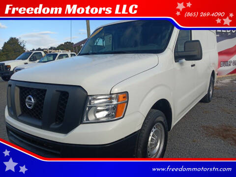 2018 Nissan NV Cargo for sale at Freedom Motors LLC in Knoxville TN