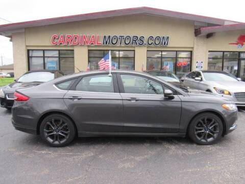 2018 Ford Fusion for sale at Cardinal Motors in Fairfield OH