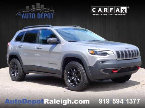 2019 Jeep Cherokee for sale at The Auto Depot in Raleigh NC