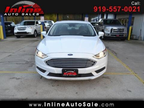 2018 Ford Fusion for sale at Inline Auto Sales in Fuquay Varina NC