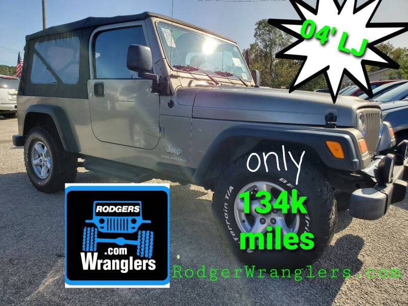 2004 Jeep Wrangler for sale at Rodgers Wranglers in North Charleston SC