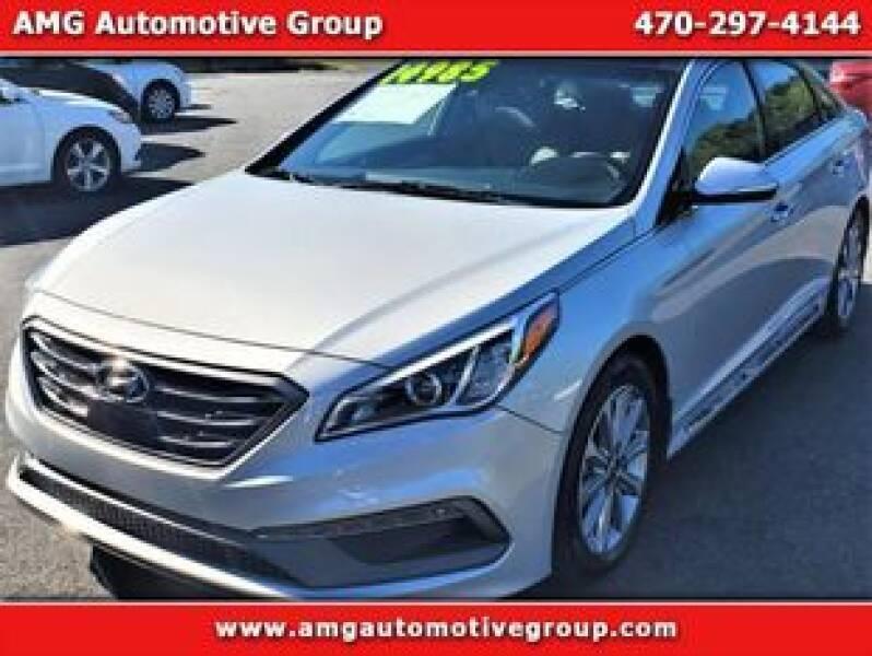 2016 Hyundai Sonata for sale at AMG Automotive Group in Cumming GA