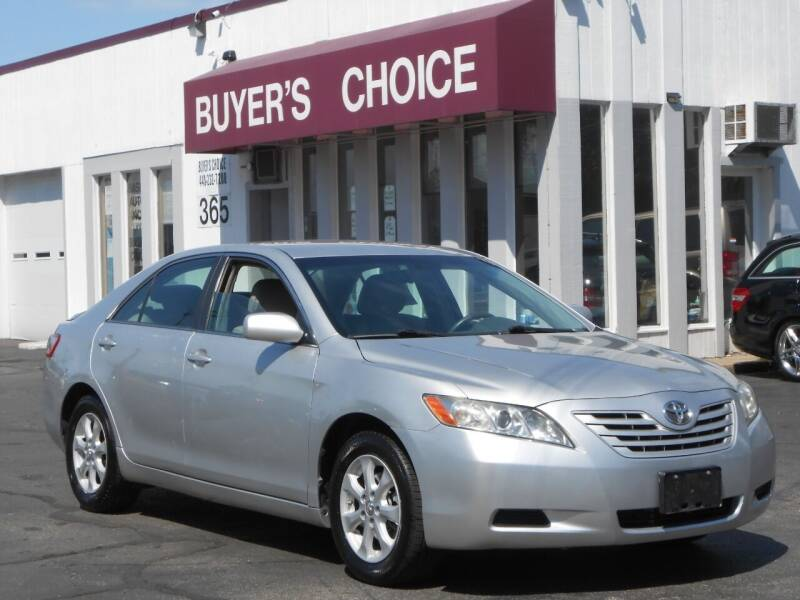 2008 Toyota Camry for sale at Buyers Choice Auto Sales in Bedford OH