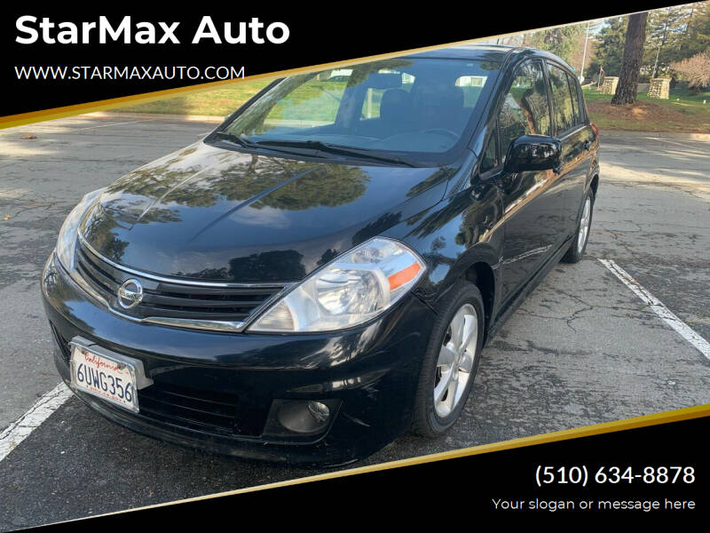 2012 Nissan Versa for sale at StarMax Auto in Fremont CA