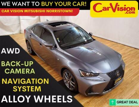2019 Lexus IS 300 for sale at Car Vision Mitsubishi Norristown in Trooper PA