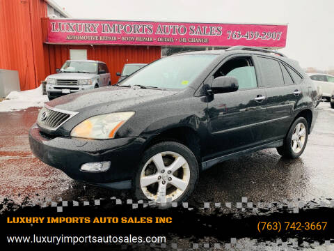 2008 Lexus RX 350 for sale at LUXURY IMPORTS AUTO SALES INC in North Branch MN