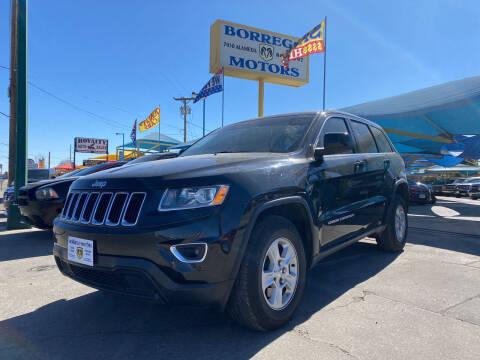 2015 Jeep Grand Cherokee for sale at Borrego Motors in El Paso TX