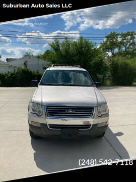 2006 Ford Explorer for sale at Suburban Auto Sales LLC in Madison Heights MI