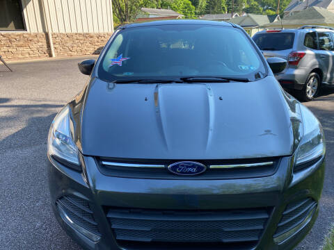 2015 Ford Escape for sale at WHARTON'S AUTO SVC & USED CARS in Wheeling WV