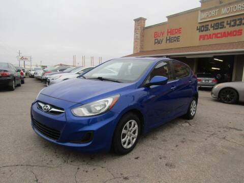 2014 Hyundai Accent for sale at Import Motors in Bethany OK