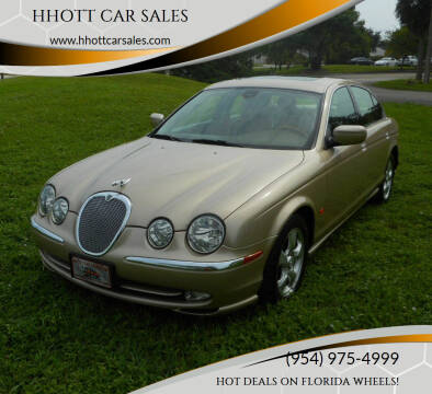 2001 Jaguar S-Type for sale at HHOTT CAR SALES in Deerfield Beach FL