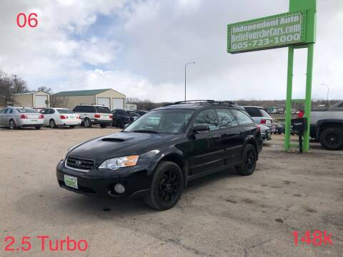 2006 Subaru Outback for sale at Independent Auto in Belle Fourche SD