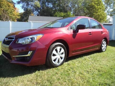 2015 Subaru Impreza for sale at Niewiek Auto Sales in Grand Rapids MI
