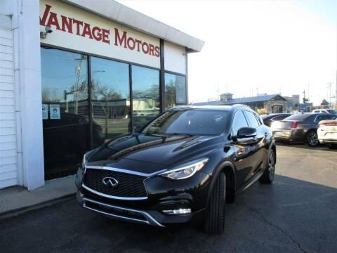 2017 Infiniti QX30 for sale at Vantage Motors LLC in Raytown MO