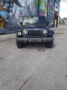 2007 Jeep Wrangler Unlimited for sale at Rosa's Auto Sales in Miami FL
