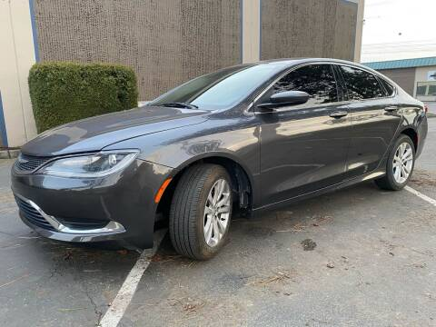 2015 Chrysler 200 for sale at Exelon Auto Sales in Auburn WA