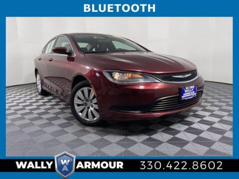 2015 Chrysler 200 for sale at Wally Armour Chrysler Dodge Jeep Ram in Alliance OH