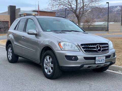 2007 Mercedes-Benz M-Class for sale at A.I. Monroe Auto Sales in Bountiful UT