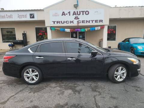 2014 Nissan Altima for sale at A-1 AUTO AND TRUCK CENTER in Memphis TN