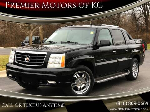 2005 Cadillac Escalade EXT for sale at Premier Motors of KC in Kansas City MO