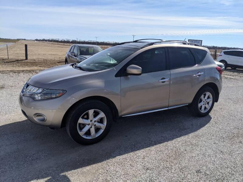 2009 Nissan Murano for sale at Halstead Motors LLC in Halstead KS