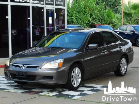 2007 Honda Accord for sale at Drive Town in Houston TX