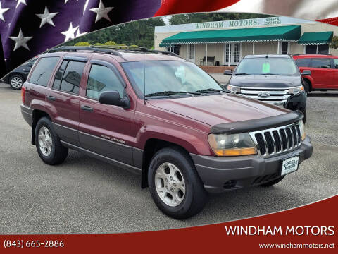 2001 Jeep Grand Cherokee for sale at Windham Motors in Florence SC