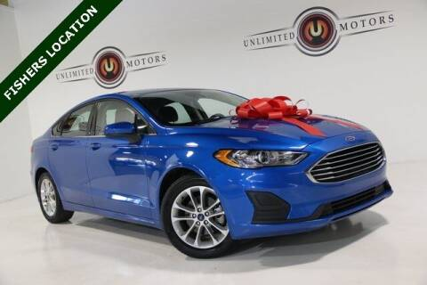 2019 Ford Fusion for sale at Unlimited Motors in Fishers IN