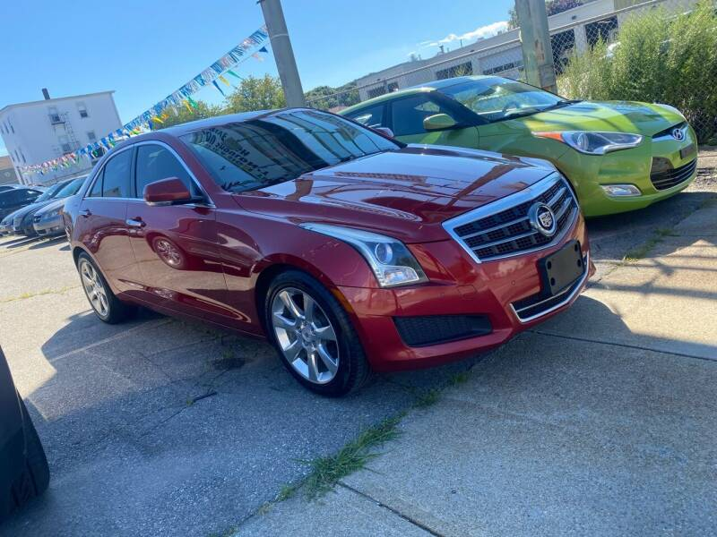 2014 Cadillac ATS for sale at Bob Luongo's Auto Sales in Fall River MA