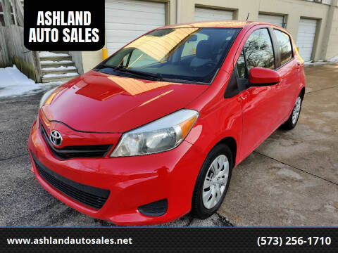 2013 Toyota Yaris for sale at ASHLAND AUTO SALES in Columbia MO