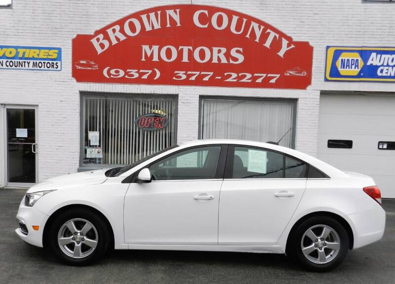 2016 Chevrolet Cruze Limited for sale at Brown County Motors in Russellville OH