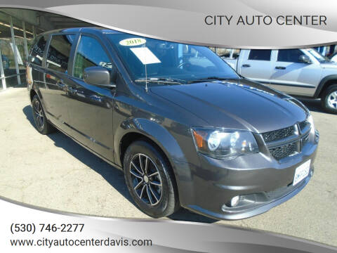 2018 Dodge Grand Caravan for sale at City Auto Center in Davis CA