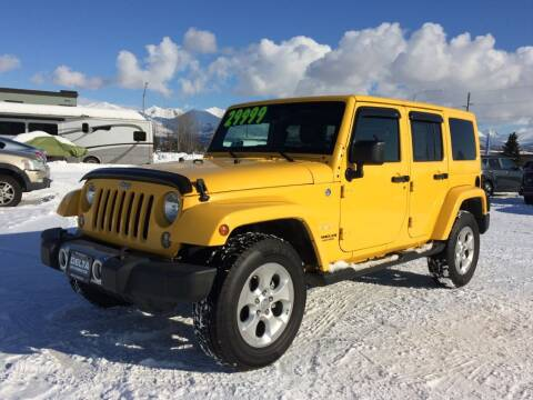 2015 Jeep Wrangler Unlimited for sale at Delta Car Connection LLC in Anchorage AK