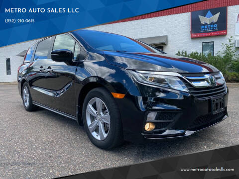 2018 Honda Odyssey for sale at METRO AUTO SALES LLC in Blaine MN