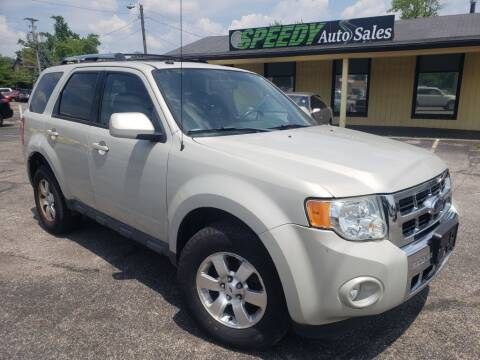2009 Ford Escape for sale at speedy auto sales in Indianapolis IN